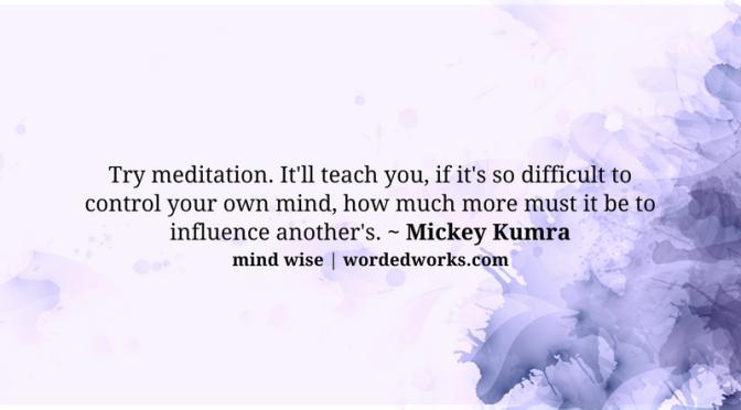 Mind Wise | Mind Control