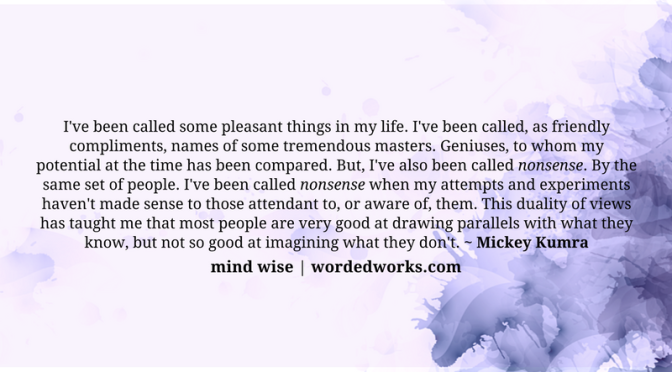 Mind Wise | Parallel Universe