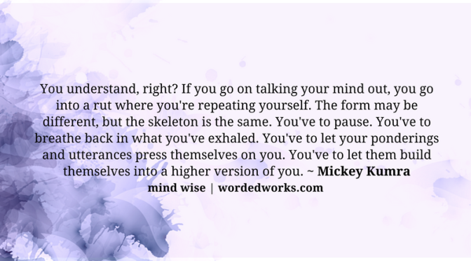 Mind Wise   Shhh